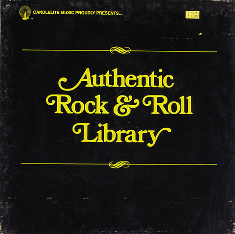 "Authentic Rock & Roll Vinyl 12"" (Used)"