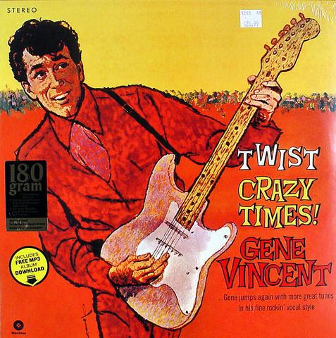 "Gene Vincent Vinyl 12"" (New)"