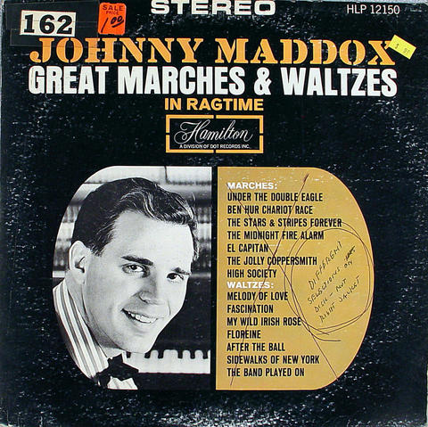 "Johnny Maddox Vinyl 12"" (Used)"