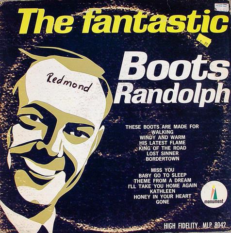 "Boots Randolph Vinyl 12"" (Used)"