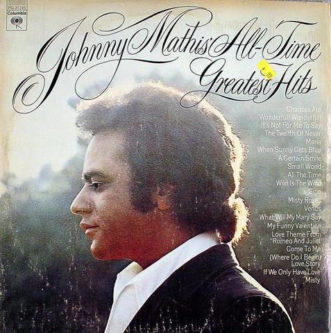 "Johnny Mathis Vinyl 12"" (Used)"