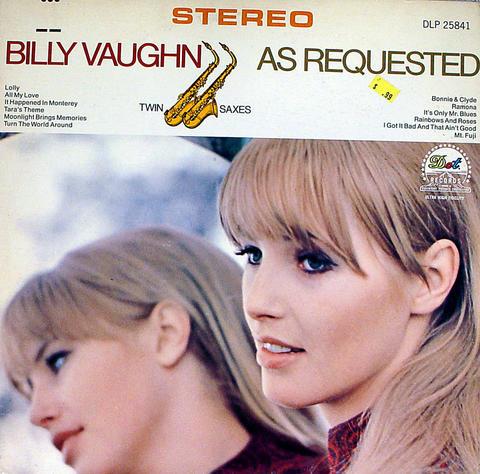 """Billy Vaughn Vinyl 12"""" (Used)"""