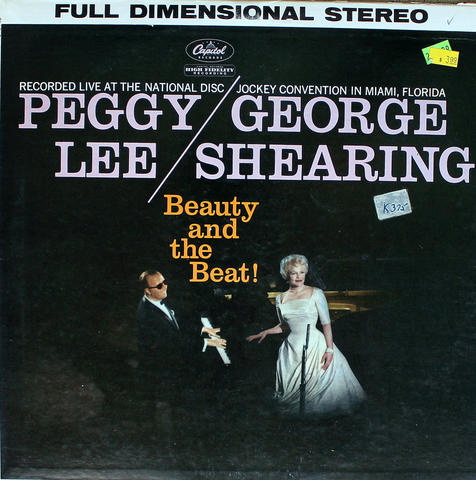 "Peggy Lee Vinyl 12"" (Used)"