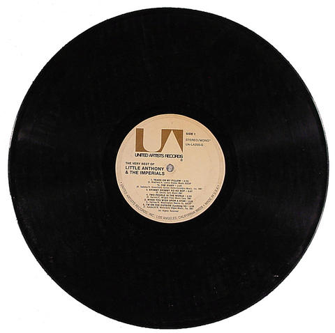 """Litte Anthony & The Imperials Vinyl 12"""" (Used)"""