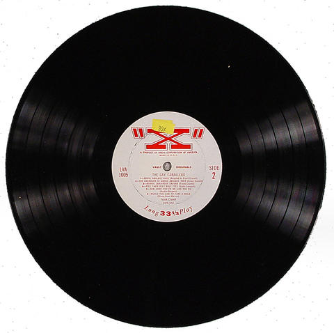 "Gay Caballero Vinyl 12"" (Used)"