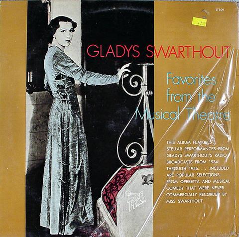 "Gladys Swarthout Vinyl 12"" (Used)"