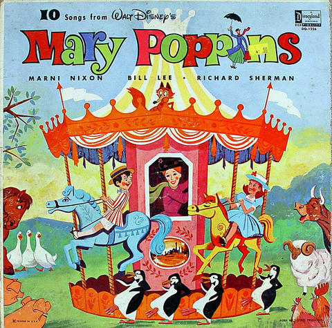 """Mary Poppins Vinyl 12"""" (Used)"""