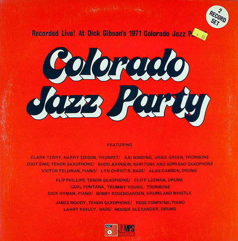 "Colorado Jazz Party Vinyl 12"" (Used)"