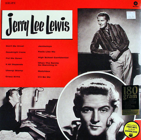 "Jerry Lee Lewis Vinyl 12"" (New)"