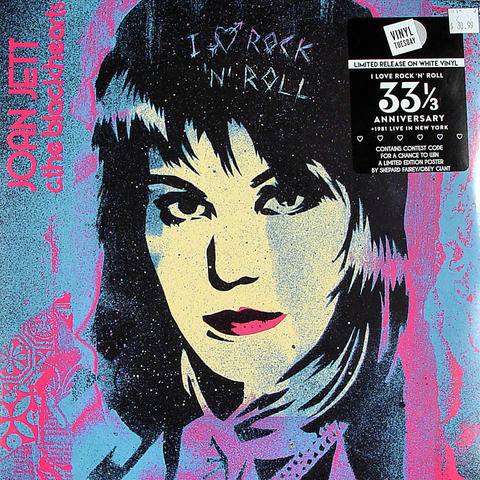 "Joan Jett & The Blackhearts Vinyl 12"" (New)"