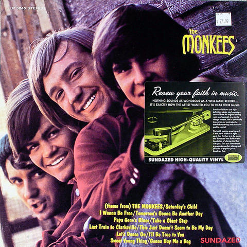 "The Monkees Vinyl 12"" (New)"