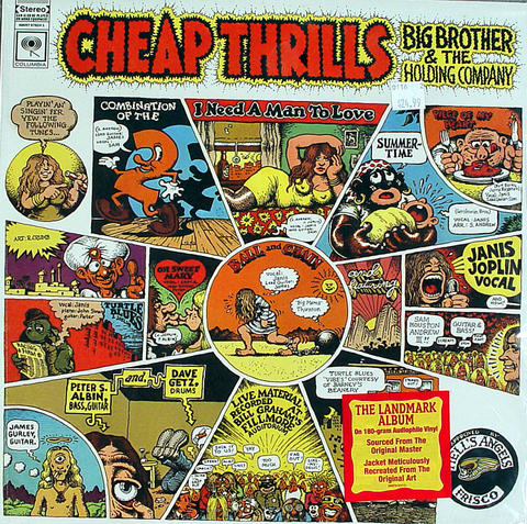 """Big Brother and the Holding Company Vinyl 12"""" (New)"""