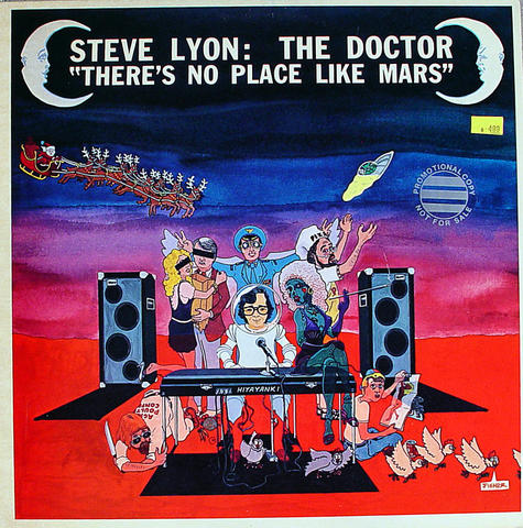 "Steve Lyon: The Doctor Vinyl 12"" (Used)"