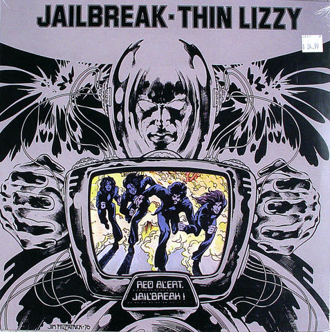 "Thin Lizzy Vinyl 12"" (New)"