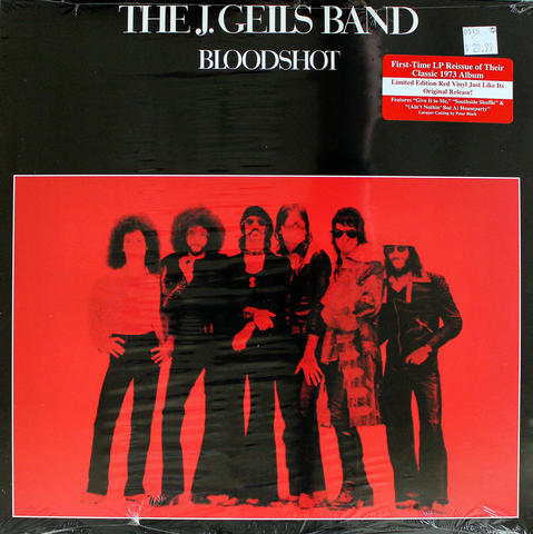 "The J. Geils Band Vinyl 12"" (New)"