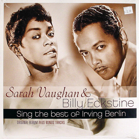 "Sarah Vaughan Vinyl 12"" (New)"