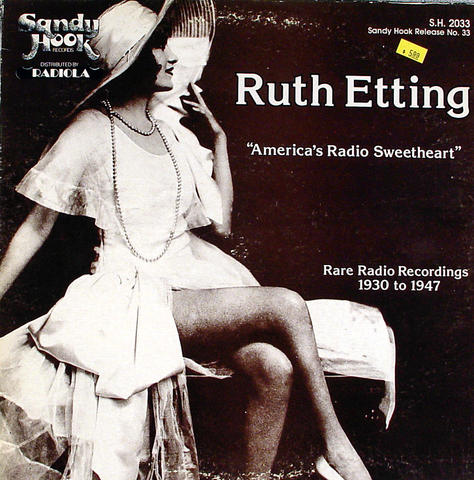 "Ruth Etting Vinyl 12"" (Used)"