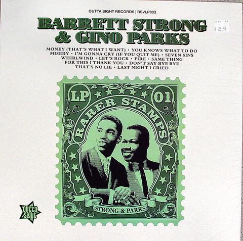 "Barrett Strong & Gino Parks Vinyl 12"" (New)"