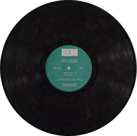 """Jack DeJohnette Vinyl 12"""" (Used)"""