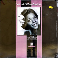"Dinah Washington Vinyl 12"" (New)"
