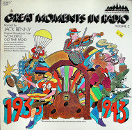 """Great Moments In Radio Vol. 2 Narrated By Jack Benny Vinyl 12"""" (Used)"""