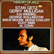 "Stan Getz / Gerry Mulligan / Kai Winding / George Wallington / Brew Moore / Serge Chaloff / Zoot Sims / Al Cohn Vinyl 12"" (Used)"