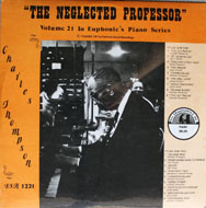 "The Neglected Professor Vinyl 12"" (New)"