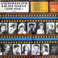 "A Nostalgia Trip To The Stars 1920-1950 Vol. 2 Vinyl 12"" (New)"