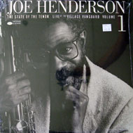 "Joe Henderson Vinyl 12"" (New)"