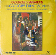 "Gregory Fulkerson Vinyl 12"" (New)"