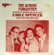 """Earle Spencer And His Orchestra Vinyl 12"""" (New)"""