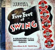 """Five Feet Of Swing Vinyl 12"""" (Used)"""