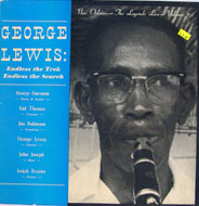 "George Lewis: Endless The Trek Endless The Search Vinyl 12"" (Used)"