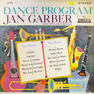 "Jan Garber And His Orchestra Vinyl 12"" (Used)"