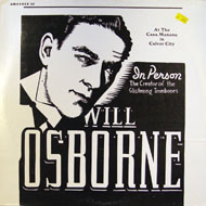"Will Osborne And His Orchestra Vinyl 12"" (Used)"
