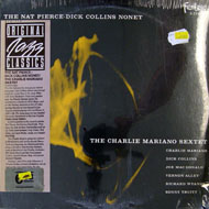 "The Nat Pierce-Dick Collins Nonet / The Charlie Mariano Sextet Vinyl 12"" (New)"