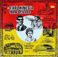 "Earl Hines / Wallace Davenport / Orange Kellin Vinyl 12"" (New)"
