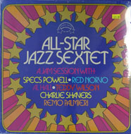 "All-Star Jazz Sextet Vinyl 12"" (New)"