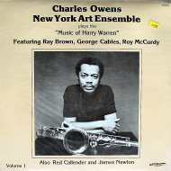 "Charles Owens New York Art Ensemble Vinyl 12"" (Used)"