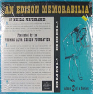"An Edison Memorabilia Of Musical Performances Vinyl 12"" (New)"