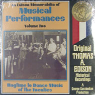 "An Edison Memorabilia Of Musical Performances: Volume Two Vinyl 12"" (New)"