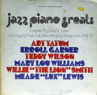 "Jazz Piano Greats Vinyl 12"" (Used)"