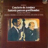 """Concierto De Aranjuez / Fantasia Para Un Gentilhombre Vinyl 12"""" (Used)"""
