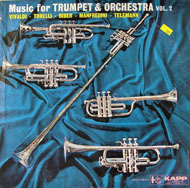"Music For Trumpet & Orchestra: Volume 2 Vinyl 12"" (Used)"