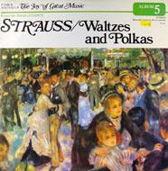 "Johann Strauss, Jr. Vinyl 12"" (Used)"