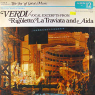 """Giuseppe Verdi Vinyl 12"""" (Used)"""
