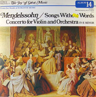 "Felix Mendelssohn Vinyl 12"" (Used)"