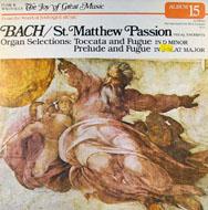 "Johann Sebastian Bach Vinyl 12"" (Used)"