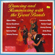 """Dancing And Reminiscing With The Great Bands Vinyl 12"""" (Used)"""