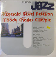 "Ella Fitzgerald / Barney Kessel / Oscar Peterson / James Moody / Ray Charles / Dizzy Gillespie Vinyl 12"" (New)"